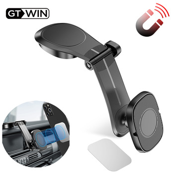 цена на GTWIN Magnetic Car Phone Holder Air Vent Mount Stand For iPhone 11 XS Max Samsung Xiaomi Stander Magnet GPS Car Mount Dashboard