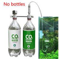 Equipment Fish CO2 Generator Pet For Plants Aluminum Alloy Airflow Adjustment DIY Diffuser Accessories Pressure Relief Aquarium