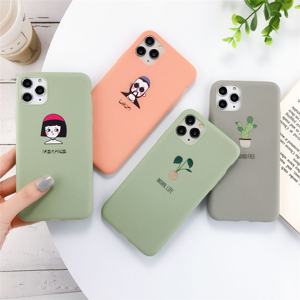 Hb91e65c1dd2e46608e3e3daff9f8b6b0r - Lovebay Silicone Phone Cases For iPhone 7 XR 11 Pro Avocado Waves Cactus For iPhone 5SE 6 6s 8 Plus X XS Max Soft TPU Back Cover