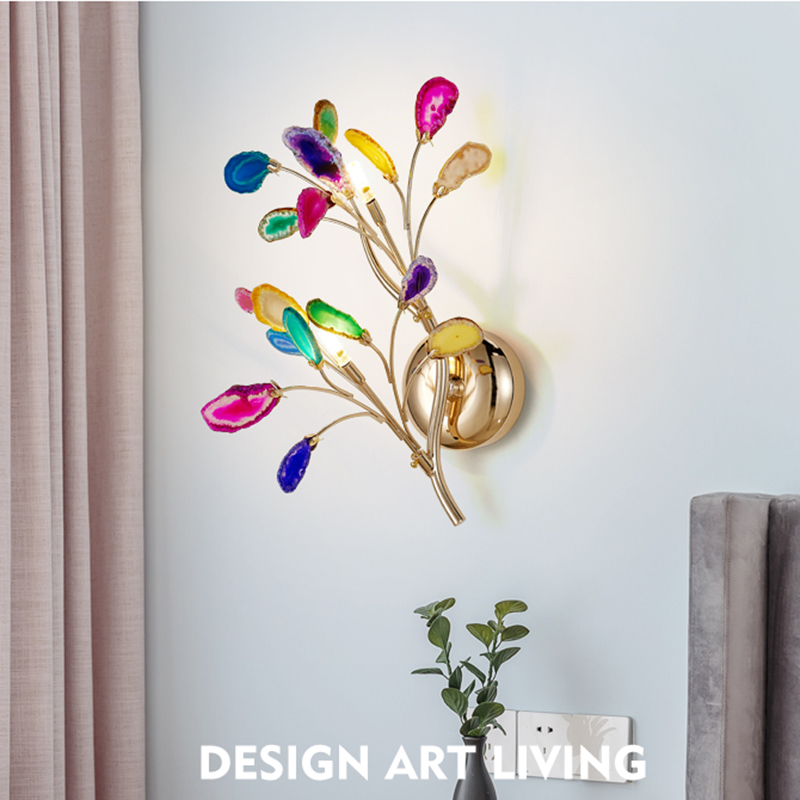 Nordic Led Wall Lamp Color Living Room, Decorative Lamps For Living Room