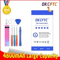 OKCFTC-EB-BG973ABU de batería para teléfono móvil Samsung, herramientas para Galaxy S10, S10X, SM-G973, G973F, G973U, G973W, G9730, 4800mAh, Akku