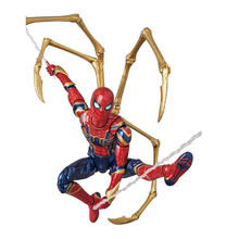 New Movie Avengers Infinity War Iron Spider Man Cartoon Toy Action Figure Model Doll Gift B654 pandadomik unique resin large ultron toy figure movie model iron man toy avengers figurine decor gift toys for boys kids hobbies