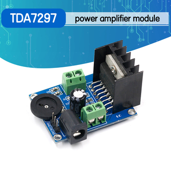 DC 6 to 18V TDA7297 Power Amplifier Module Audio amplifier module Double Channel 10-50W - discount item  5% OFF Games & Accessories
