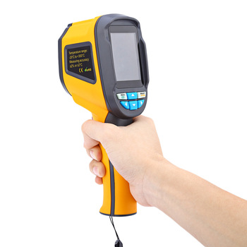 HT-02D Handheld Infrared Thermal Imager with SD Card and 8HZ Image Frequency