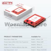 Qianli Mega fikri LCD ekran gerçek ton tamir programcı iPhone XR XSMAX XS 8P 8 7P 7 titreşim/dokunmatik/ışığa duyarlı tamir