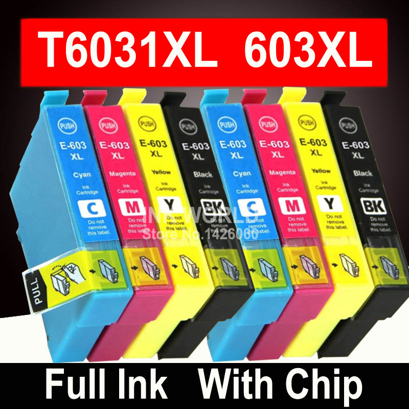 Compatible 603XL Ink Cartridge for <font><b>Epson</b></font> <font><b>XP</b></font>-<font><b>2100</b></font> <font><b>XP</b></font>-2105 <font><b>XP</b></font>-3100 <font><b>XP</b></font>-3105 <font><b>XP</b></font>-4100 <font><b>XP</b></font>-4105 WF-2810 WF-2830 WF-2850 image