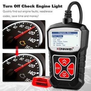 Image 3 - KONNWEI KW310 OBD2 Scanner für Auto OBD 2 Auto Scanner Diagnose Werkzeug Automotive Scanner Auto Werkzeuge Russische Sprache PK Elm327