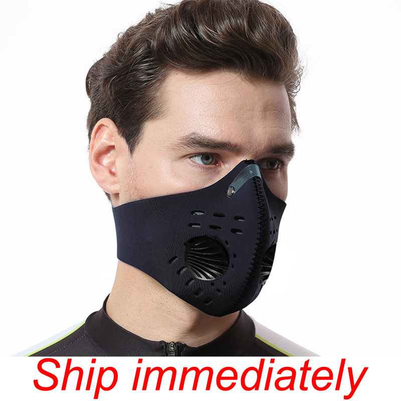 2020 Prevent Transmission Of Pneumonia Dust Mask Anti Pollution Respirator PM2.5 Dustproof Safety Mask Washable