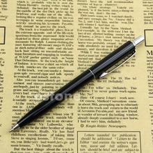 Stainless Steel Metal Push Ballpoint Pen Baoer 37 Ball Point Pen Gift Stationary M5TB