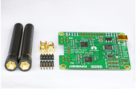 2019 V1.3 MMDVM_HS_Dual_Hat Duplex Hotspot Board +2pcs Antenna Support P25 DMR YSF NXDN For Raspberry Pi