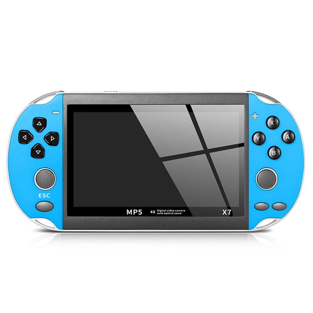 PSP handheld game console supports mp3 mp4 camera game download built-in 300 games image