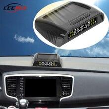 Sensores de monitoreo de presión de neumáticos de coche, Kit de diagnóstico de neumáticos, carga Solar USB, 6 uds.