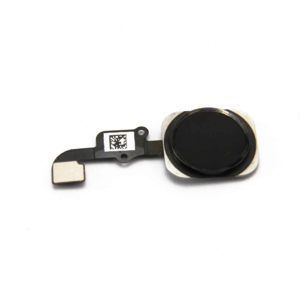 For iphone 6 black color Home button flex cable assembly for iphone 6 , free shipping!!