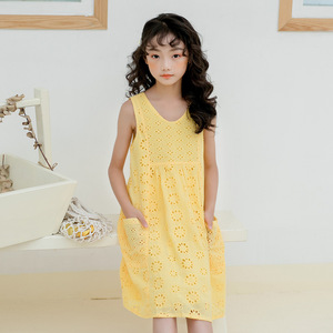 Image 2 - High Quality 2020 New Summer Style Girl Lace Dresses Girls Birthday Clothes 3 16Y Girls Party Dress Princess Clothes CC714