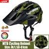 2019 corrida capacete de bicicleta com luz in-mold mtb estrada ciclismo capacete para homens mulheres ultraleve capacete esporte equipamentos de segurança 17