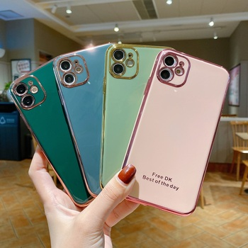 6D Plating Case For Huawei Enjoy 20 Z 10e 9E 9 10 9S 8e Plus 10S Y7p Y6s Y6p Y6 Y7 Y9 Y5 Pro Prime 2018 2019 Mobile Phone Cover image