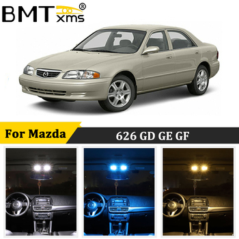 BMTxms For Mazda 626 GD GE GF 1988-2002 Canbus Car LED Interior Map Dome Trunk Light License Plate Lamp Auto Accessories image