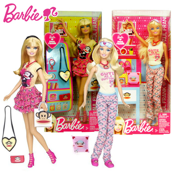 Original Barbie Doll Fashion Barbie Dress Toys for Girls  Barbie Clothes Doll Accessories Hot Toys for Children Birthday Gift e ting 1 6 fashion doll clothes western style dress lace wedding evening party girls suit hat veil accessories for barbie doll