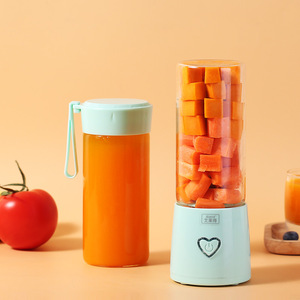New Juicer Portable Blender Cup USB Mixer Rechargeable Juice Machine Smoothie Electric Blender Mini Food processor