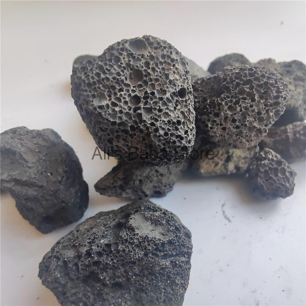 Natural Aquarium Fish Tank Filter Media Volcanic Rock Biological Ball Bio Filter Clear Water Decoration Honeycomb Filter Stone|Stones| - AliExpress