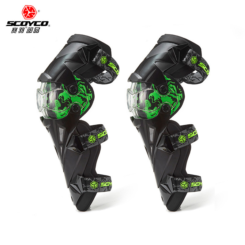 Motorcycle Riding Protective Clothing Motocross Car Protective Clothing Outdoor Sports Shatter-resistant Kneecap Scoyco Scoyco K