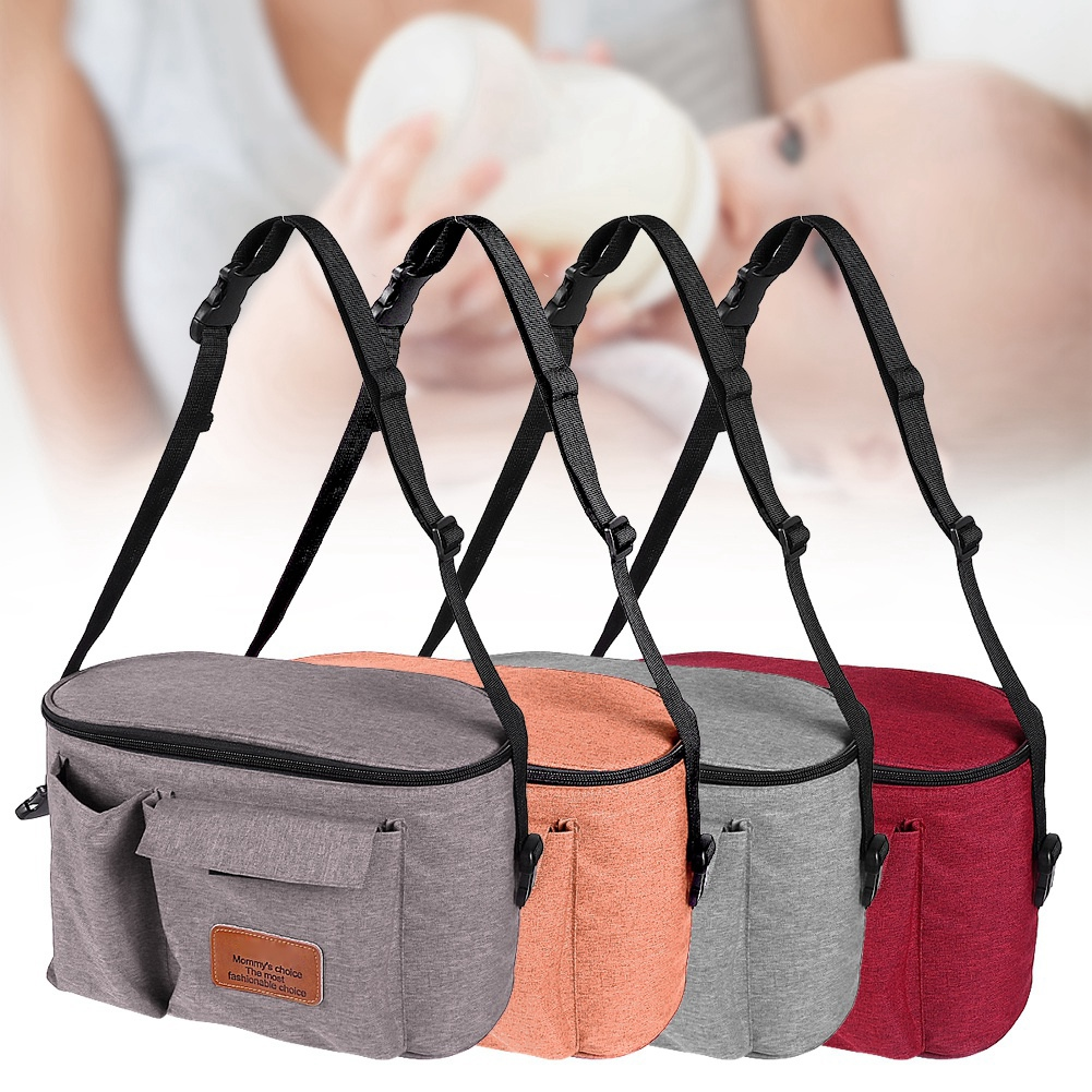 New Multi-function Baby Stroller Hang Bag Organizer Waterproof Mummy Travel Thermal Care Diaper Nappy Bags Cart Accessories