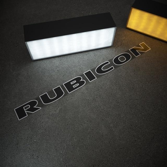 Car Styling Vinyl Sticker Automobile Engine Hood Cover Decals for Jeep Wrangler RUBICON Renegade Wrangler JK Cherokee 3