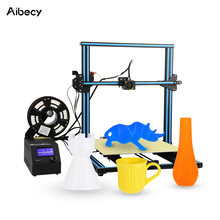 Aibecy CR-10 s4 diy i3 impressora 3d de alta precisão auto-montar fácil de montar filamento run-out detecção de impressão de currículo