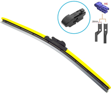 HESITE H8 Interface Car Auto Windscreen Wipers Nature Rubber Windshield 1416171819202122242628