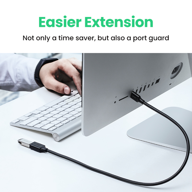 UGREEN USB Extension Cable USB 3.0 Cable for Smart Laptop PC TV Xbox One SSD USB 3.0 2.0 Extender Cord Mini Fast Speed Cable 3