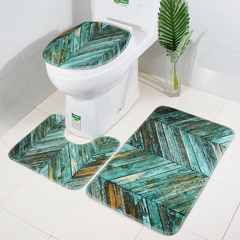 ห้องน้ำ WC ห้องน้ำฝาครอบที่นั่ง Tocador MAT Tapa WC ตกแต่งห้องน้ำ Toaleta Tapis Toilette Copri น้ำ Deska Sedesowa Bath