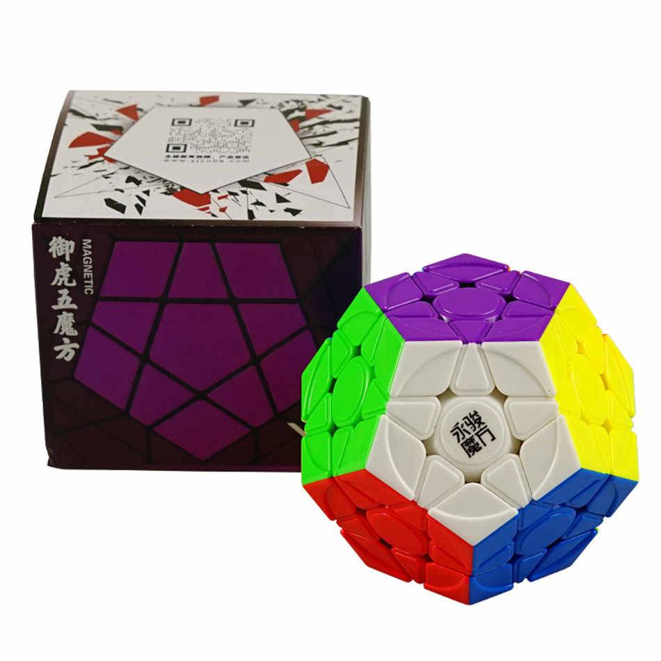 Yongjun Yj Yuhu M v2 M 3x3 Wumofang Megaminx специальный магнитный магический куб хорошее качество Megaminxeds игрушки для детей развивающая игрушка