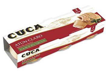 Cuca - Atn Claro En Aceite De Oliva - 3 latas - [Pack de 4]