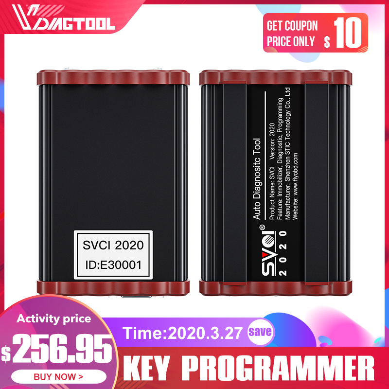VDIAGTOOL FVDI 2020 ABRITES Commander Diagnostic Scanner SVCI2014 Odometer Correction Key Programmer Unlimited With 21 Softwares