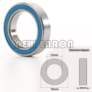 Image 5 - NEW ENRON Blue Ball Bearing 33PCS KIT Metric Rubber Sealed on Two Sides RC Car  FOR Traxxas E Revo Racing 52100 Chrome Steel
