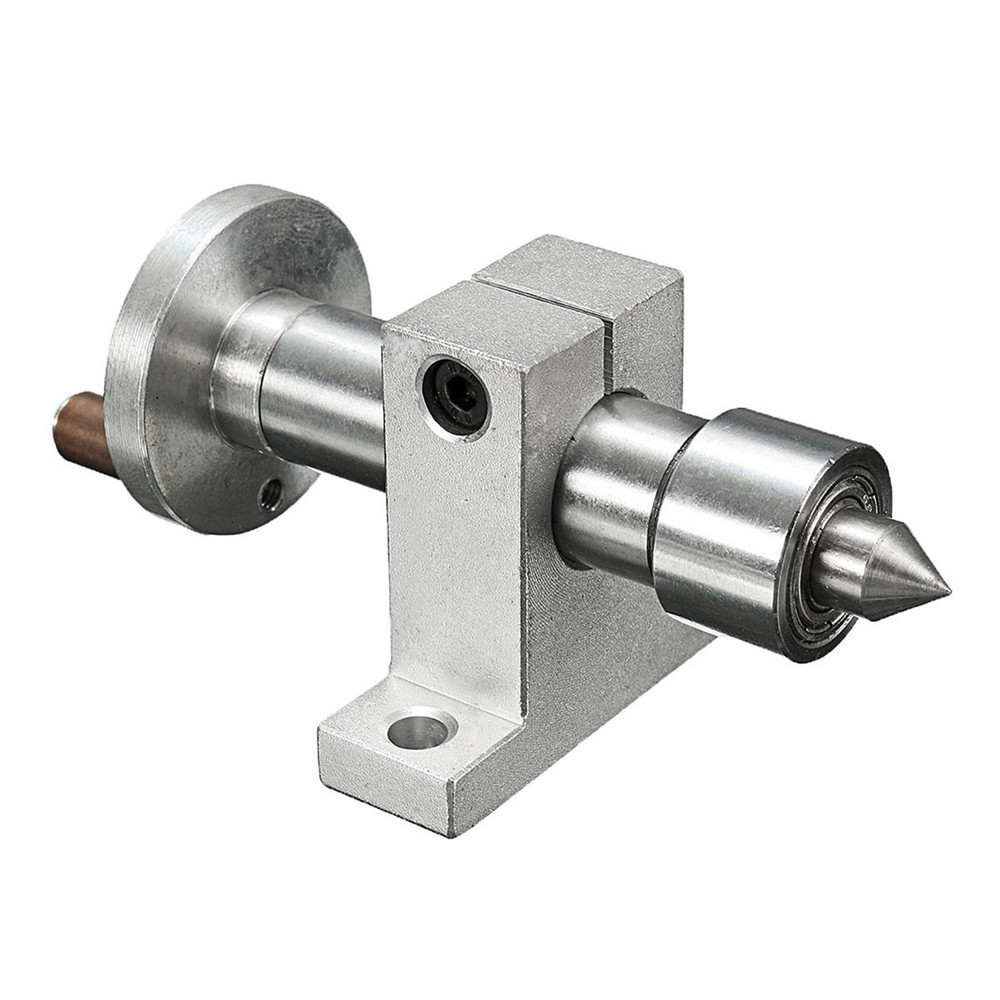 DANIU Adjustable Double Bearing Live Centre Metal Revolving With 2pcs Wrenches DIY Accessories For Mini Lathe Machine