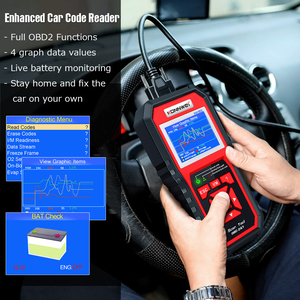 Image 5 - OBD 2 Car Scanner OBD2 Scanner KONNWEI KW850 Full ODB2 Scanner Multi languages Car Tools ODB Car Diagnostic Tool for Cars Odb2