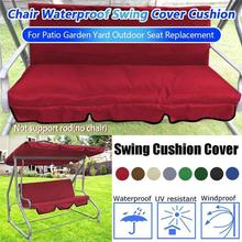Patio Chair Gardening-Swing Outdoor Canopy Seat Ceiling-Courtyard Awning Waterproof Cushion