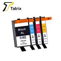 Tatrix 4PK HP902 용 HP902XL HP Officejet Pro 6960 6961 6963 6964 6965 6966 6968 6970 6971 6974 6975 6978