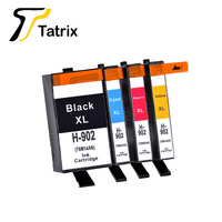 Tatrix 4PK HP902 para HP902XL cartucho de tinta para HP Officejet Pro 6960  6961  6963  6964  6965  6966  6968  6970  6971  6974  6975  6978
