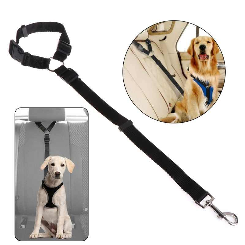 Verstelbare Pet Veiligheidsgordels voor Voertuig Nylon Huisdier Veiligheid Hond Kat Seat Riemen Leash Harness Elastische & Duurzaam Autostoel riem Supplies
