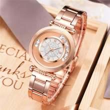2020 горячая Распродажа женские часы роскошные из нержавеющей