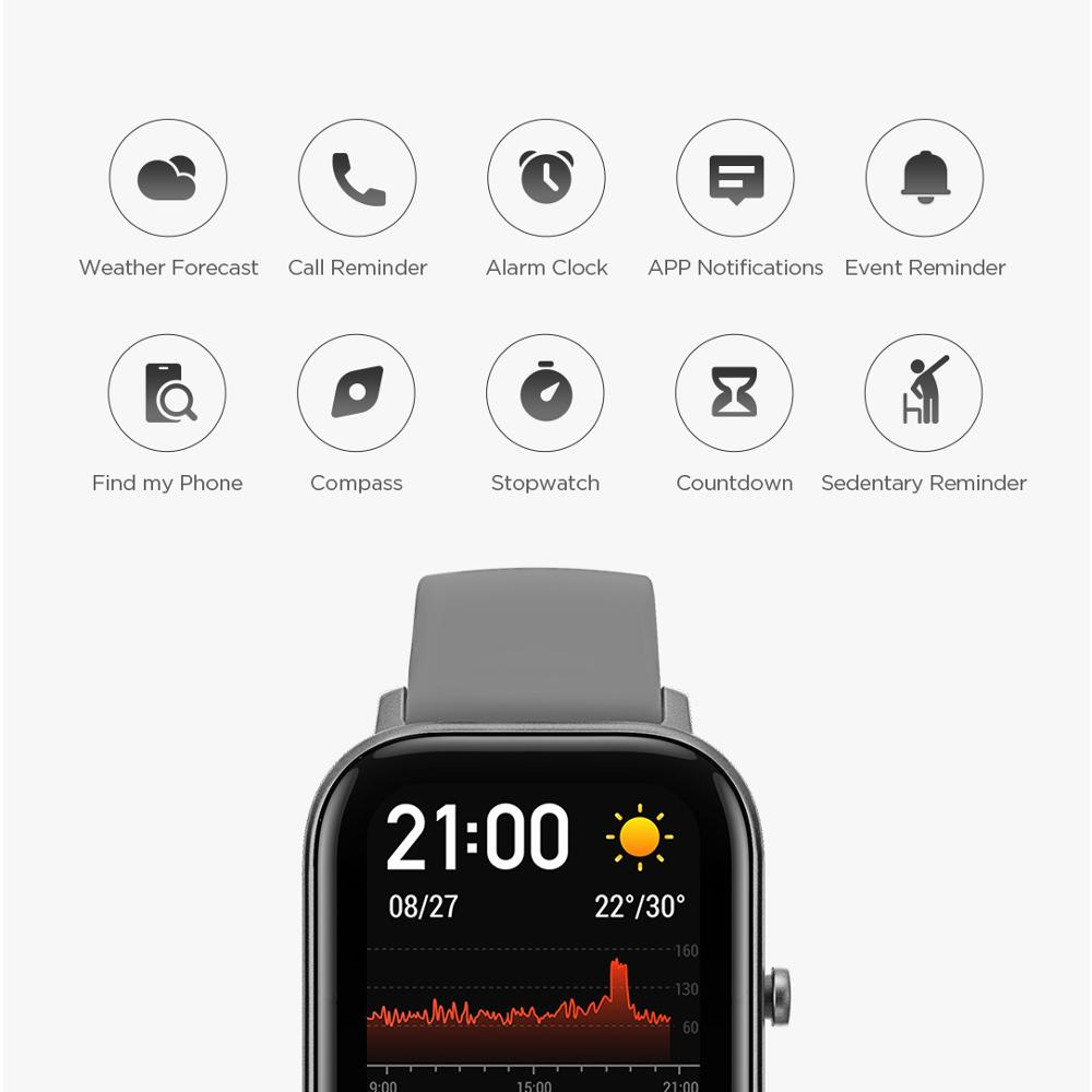 Image 4 - Global Version NEW Amazfit GTS Smart Watch 5ATM Waterproof 