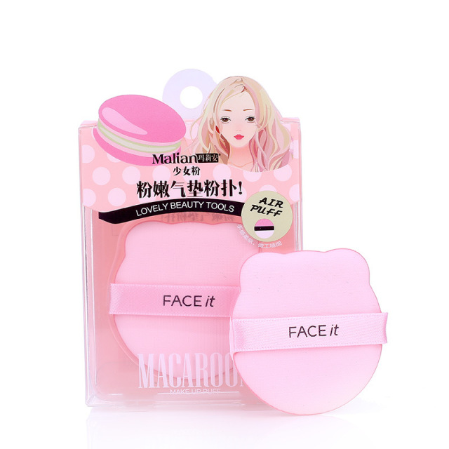 Malian Soft Pink Air Cushion Puff Universal Foundation BB Cream Circle Concealer Makeup Sponge Wet And Dry Dual Purpose Puff 1