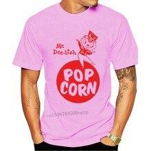 2020 Printed Men T Shirt Cotton Short Sleeve Retro Vintage Kitsch Popcorn Mr. Dee-Lish Bag Art T-Shirt Women tshirt