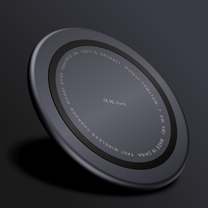 Image 5 - Wireless Charger Pad For iPhone X XS MAX XR 8 Plus Huawei P30 pro 15W Qi Fast Charging Wireless Charging