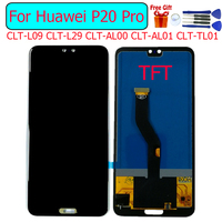 TFT For Huawei P20 Pro Display LCD Screen Digitizer replacemen For Huawei P20 Pro CLT 09 CLT 29 lcd display touch screen module