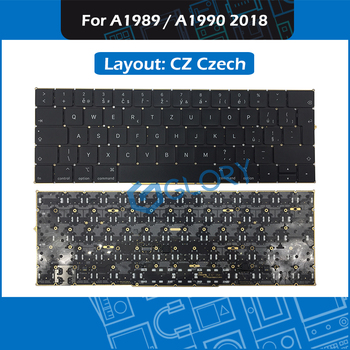 """New A1989 A1990 CZ Czech keyboard For Macbook Pro Retina 13"""" 15"""" Mid 2018 Keyboard Replacement"""