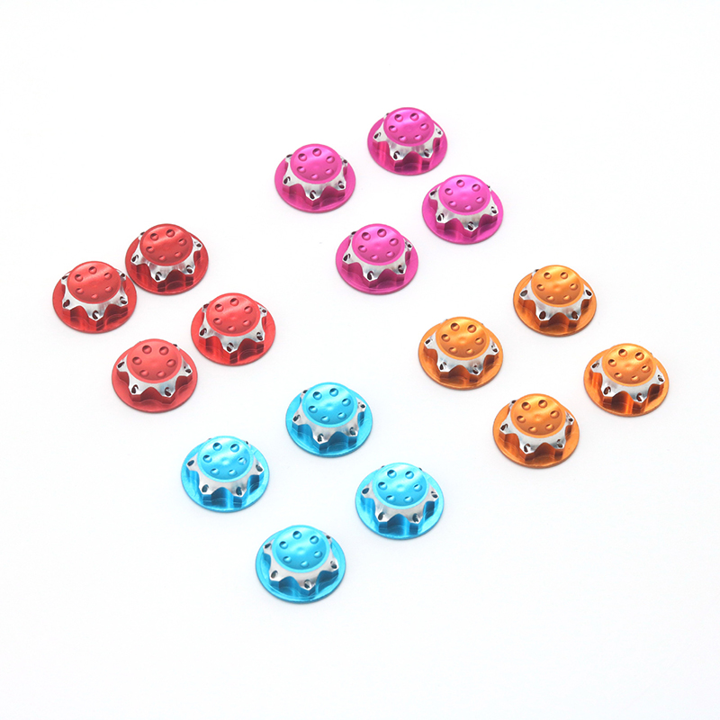 4pcs 4 Colors Aluminum <font><b>Wheel</b></font> Hub Cover <font><b>17mm</b></font> Dustproof Hex Nut For 1: 8 <font><b>RC</b></font> Car Model <font><b>RC</b></font> Car Upgrade Parts image