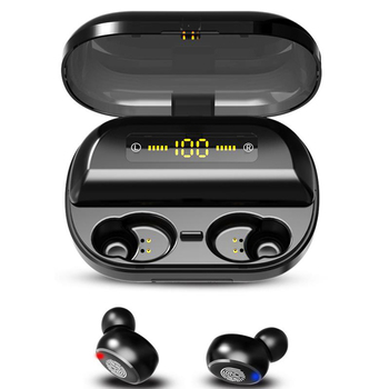 H&A TWS 5.0 Bluetooth 9D Stereo Earphone Wireless Earphones IPX7 Waterproof Earphones Sport Headphone With 4000mAh Power Bank 2